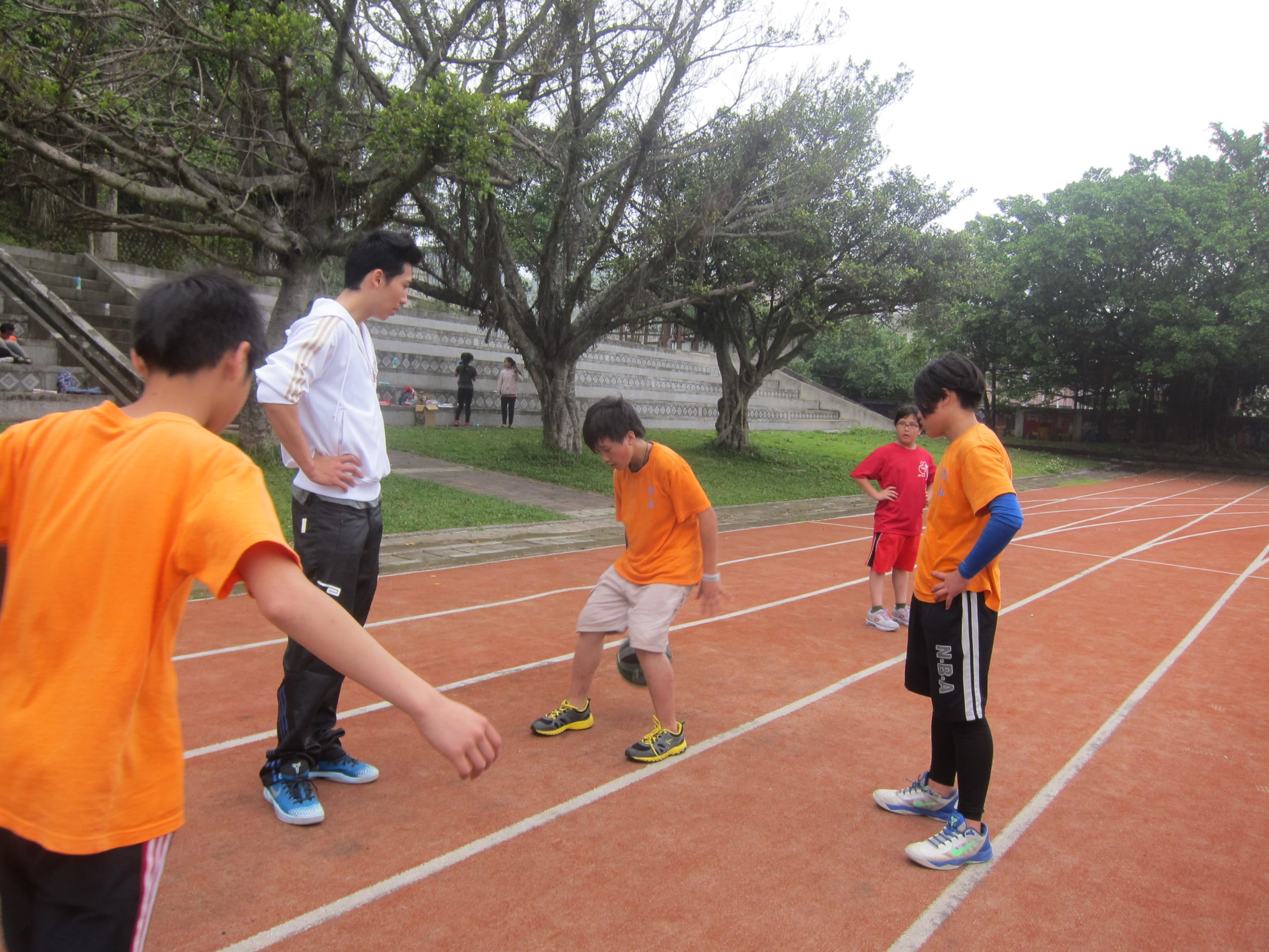 2014 5/17 Youth Basketball Program 少年籃球課程