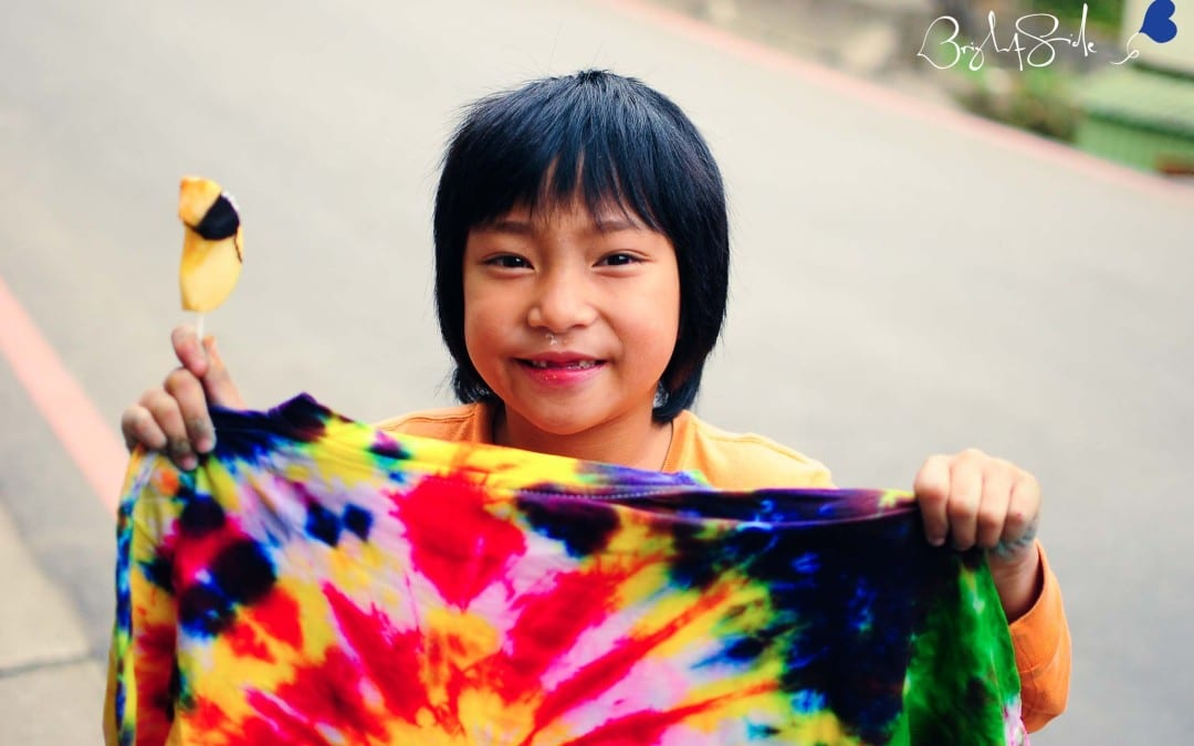 Project Wrap Up: 2015 1/10 繽紛紮染 Santa Jia-Xin Rainbow Tie-Dyes ChingChuan