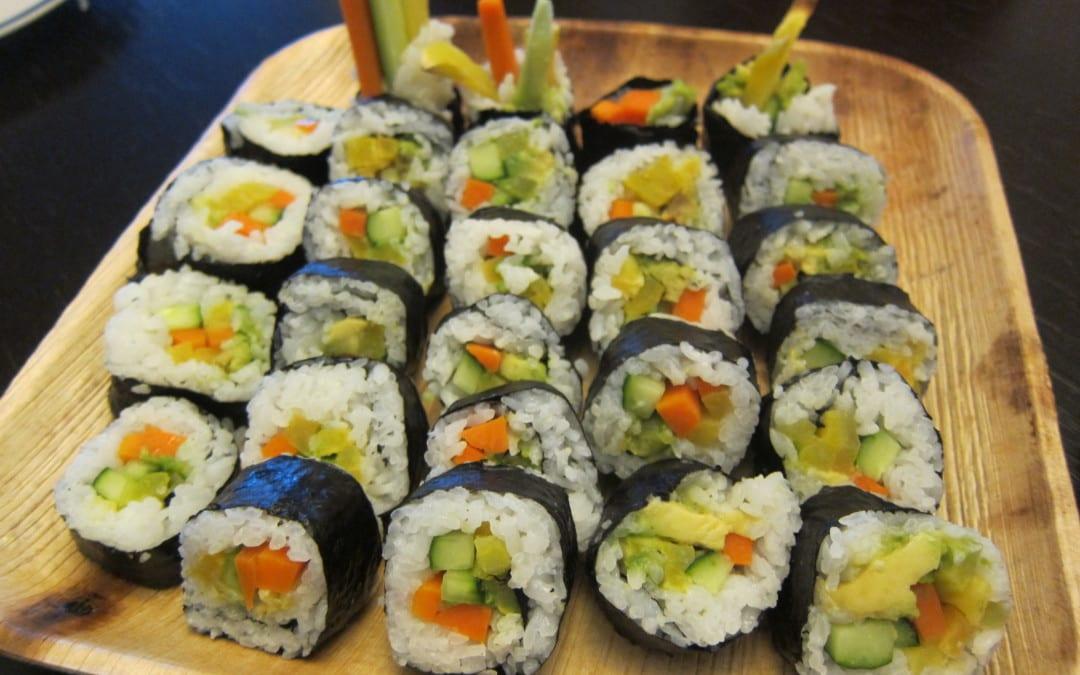 2015 6/13 Kitchen Table: 美味餐桌 - 純素日本式手作烹飪課程  (Kitchen Table – Plant Based Japanese Meal)