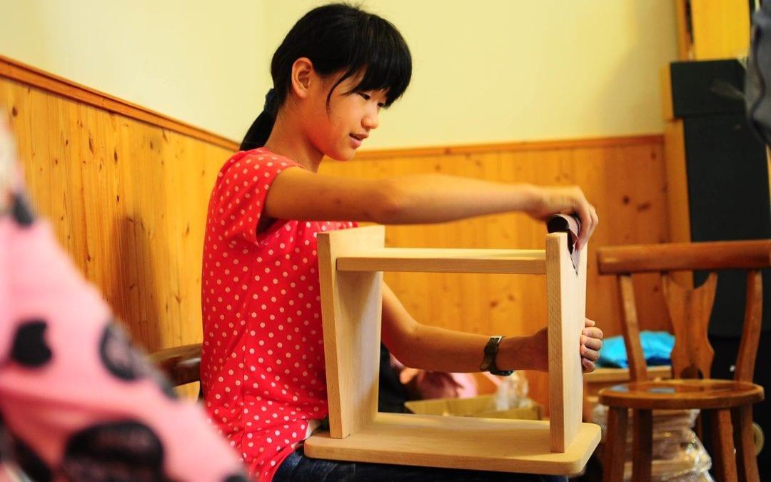 2016 12/3 佳欣冬至饗宴 手作木工小物 Jia-Xin's Wood Workshop