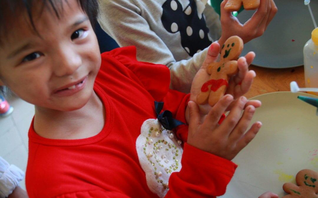 2017 1/14 薑餅人與簡易狗玩具編織 Gingerbread & Charity Toys
