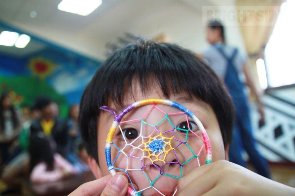 活動報告: 2016 12/11 捕夢網與簡易狗玩具編織 Jia-Xin Solstice Dreamcatcher & Puppy Chew Toys