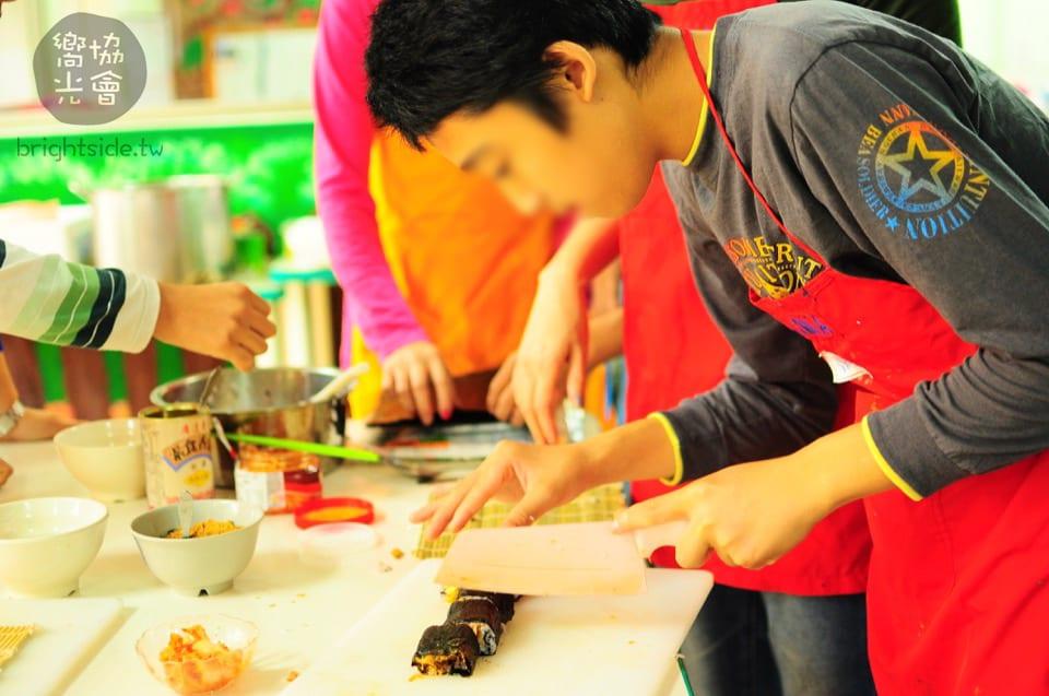 活動報告: 2017 11/13 MiaoLi Sushi Course 苗栗幼安教養院 日本文化壽司流水麵體驗坊