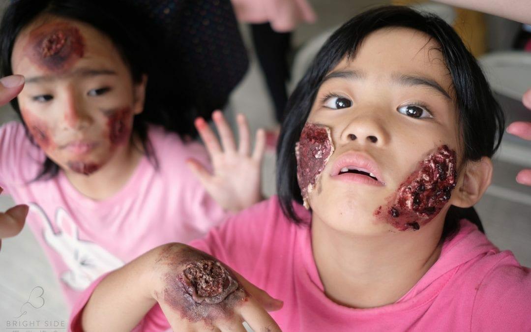 活動報告:2019/10/27「萬聖驚奇 特效化妝工作坊」Special FX Makeup ChingChuan
